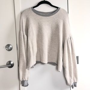 Free People Tops - Free People Sleeves Like These Pullover